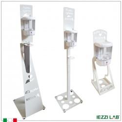 Colonna con dispenser per gel igienizzante
