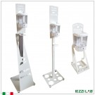 Colonna con dispenser per gel igienizzante