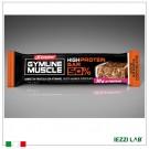 GYMLINE HIGH PROTEIN BAR 50% gusto arancia e cioccolato