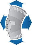 Ginocchiera con multidirezionalità elastica Donjoy