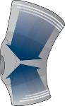 Ginocchiera  Donjoy con sistema di compressione tanto massimale quanto distale